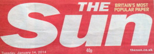 The Thrive Programme recommended in The Sun Newspaper 14 Jan 2014